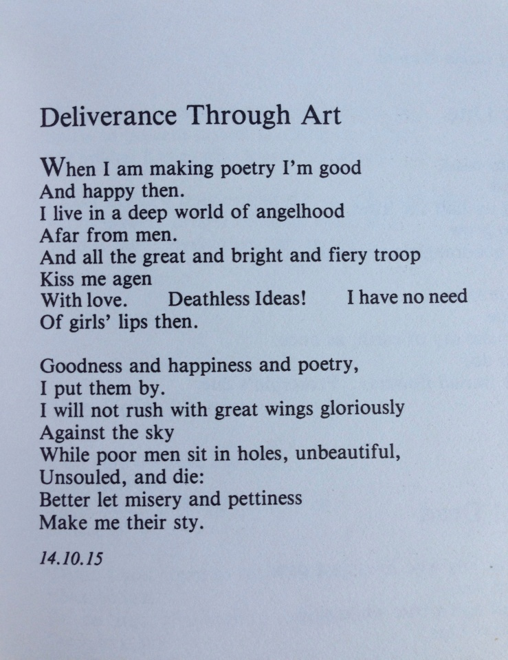 Deliverance Through Art