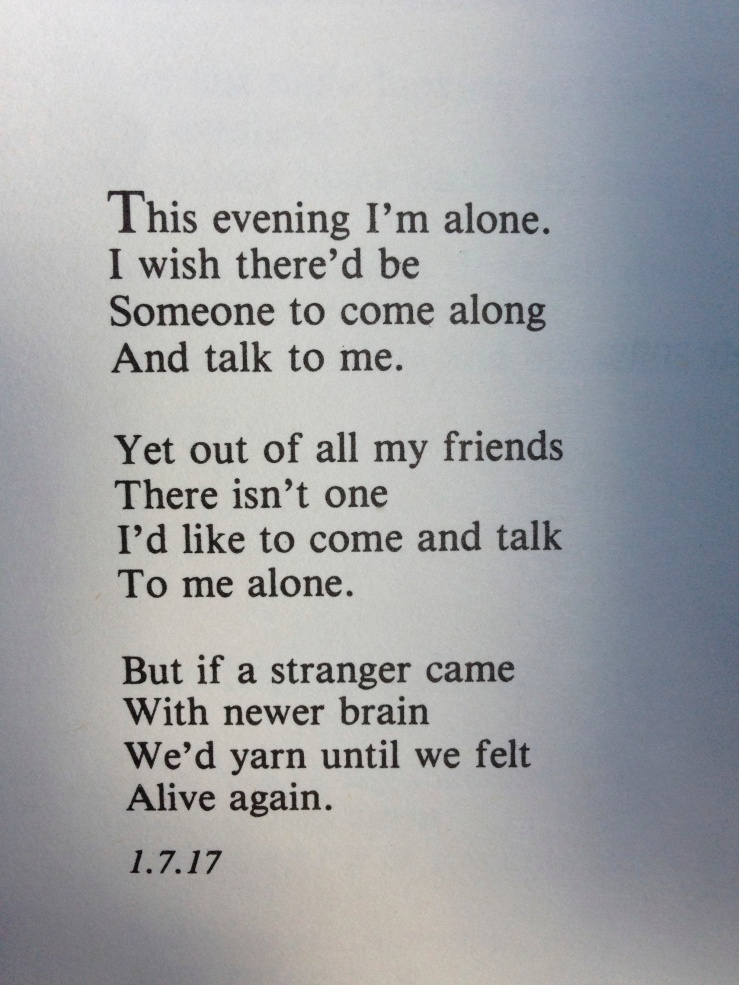 This Evening I'm Alone